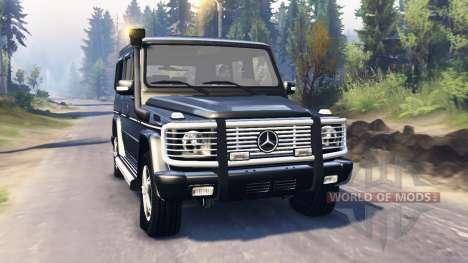 Mercedes-Benz G 500 v2.0 для Spin Tires