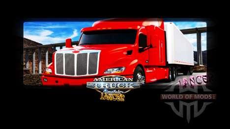 Загрузочные экраны от Lancer для American Truck Simulator