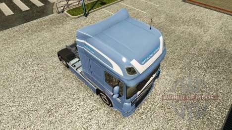 Скин Space Cab на тягач DAF для Euro Truck Simulator 2