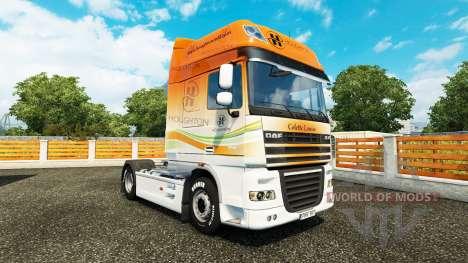 Скин Houghton на тягач DAF для Euro Truck Simulator 2