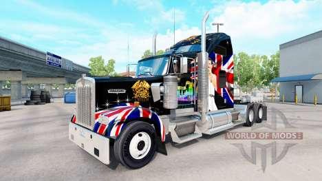 Скин Queen на тягач Kenworth W900 для American Truck Simulator