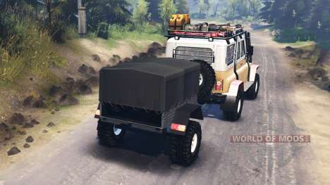 УАЗ-31514 для Spin Tires