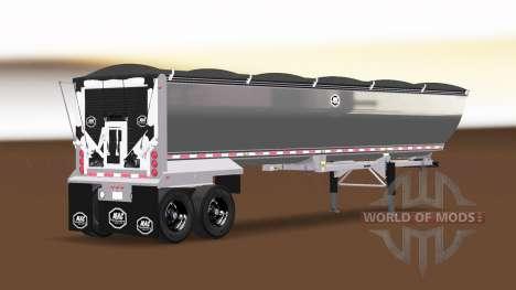 Американский полуприцеп самосвал для American Truck Simulator