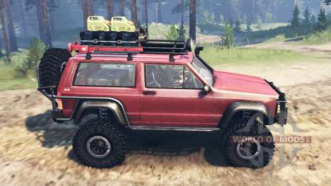 Jeep Cherokee SE для Spin Tires