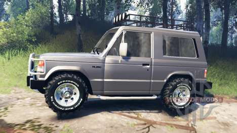 Mitsubishi Pajero I v3.0 для Spin Tires