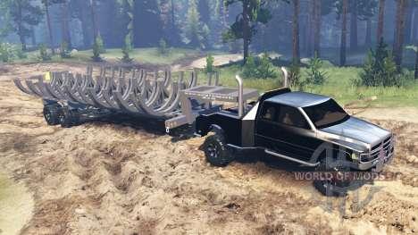 Dodge Ram для Spin Tires