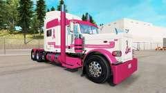Скин Trucking for a Cure на тягач Peterbilt 389