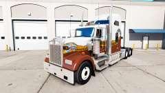 Скин Hatd Truck на тягач Kenworth W900