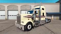 Скин Cream на тягач Kenworth W900