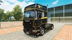 Скин Golden Lines на тягач Scania