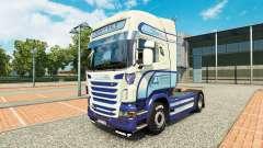 Скин Caffrey International на тягач Scania
