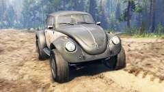 Volkswagen Beetle Custom для Spin Tires