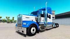 Скин Blanch Transport на тягач Kenworth W900