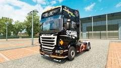 Скин Scania Black на тягач Scania