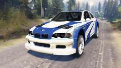 BMW M3 (E46) GTR [Most Wanted]