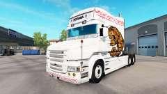 Скин Bear на тягач Scania T