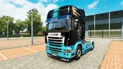 Скин Scania R на тягач Scania