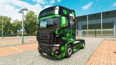 Скин Guinness на тягач Scania R700