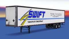 Цельнометаллический полуприцеп Swift