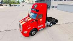 Скин San Francisco 49ers на тягачи Pet и Ken