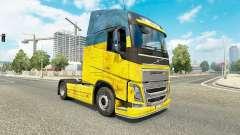 Скин Ukraine на тягач Volvo