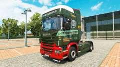 Скин Edwards Transport на тягач Scania