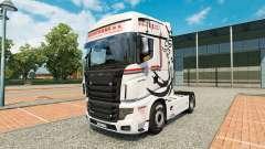 Скин NikoTrans на тягач Scania R700