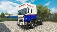 Скин Yearsley на тягач Scania