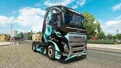 Скин Dragon на тягач Volvo