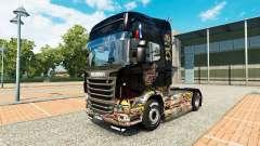 Скин Sticker Bomb на тягач Scania