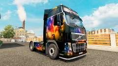Скин Color Wall на тягач Volvo