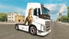Скин Vikings на тягач Volvo