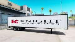 Цельнометаллический полуприцеп Knight