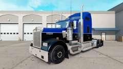 Скин Black and Blue на тягач Kenworth W900
