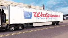 Скин WalGreens на полуприцеп