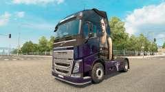 Скин The Last Of Us на тягач Volvo