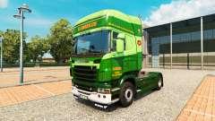 Скин S.J.Bargh на тягач Scania