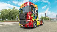 Скин Rostrans Disney на тягач Scania R700