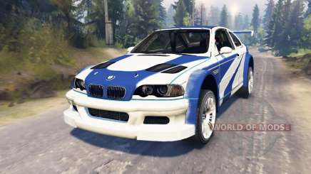 BMW M3 (E46) GTR [Most Wanted] для Spin Tires