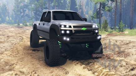 Chevrolet Colorado v2.0 для Spin Tires