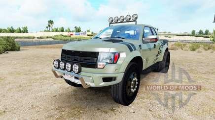 Ford F-150 SVT Raptor v1.4 для American Truck Simulator