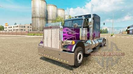 Peterbilt 379 [purple] для Euro Truck Simulator 2