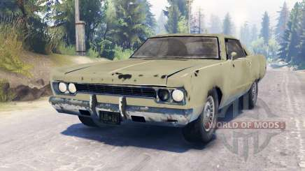 Plymouth Fury III для Spin Tires