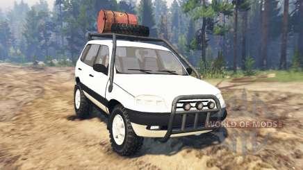 ВАЗ-21236 Chevrolet Niva для Spin Tires