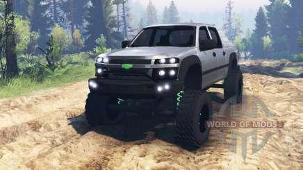 Chevrolet Colorado для Spin Tires
