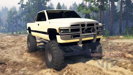 Dodge Ram Ext. Cab 1996 для Spin Tires