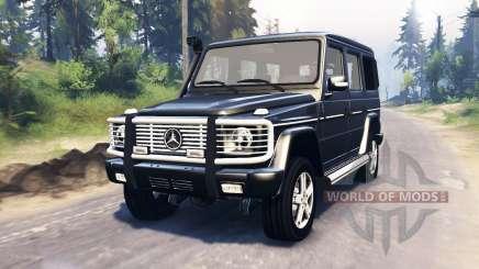 Mercedes-Benz G 500 v3.0 для Spin Tires