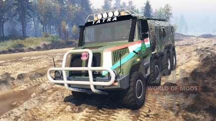 Tatra 163 Jamal 8x8 v3.0 для Spin Tires