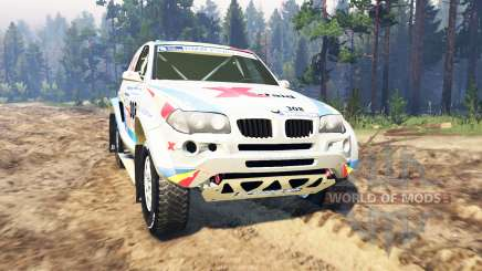 BMW X3 Rally для Spin Tires