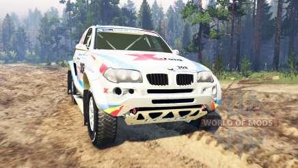 BMW X3 Rally для Spin Tires